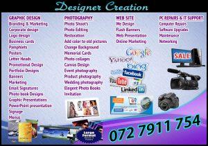 Designer Creation 2016 advert
